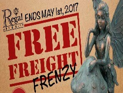 Regal – FREE Freight | Click here